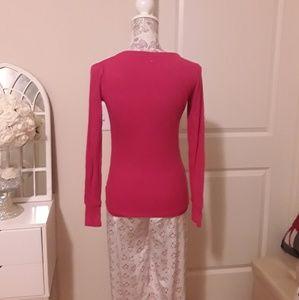 PINK Victoria's Secret Intimates & Sleepwear - VICTORIA'S SECRET MAYFAIR HEART PJS SMALL